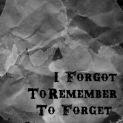 RemembertoForget